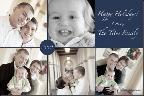 Titus Family Holiday Card