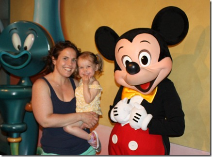 Lucy, Mommy, Mickey